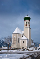 The village church - Bartholomäberg, Austria