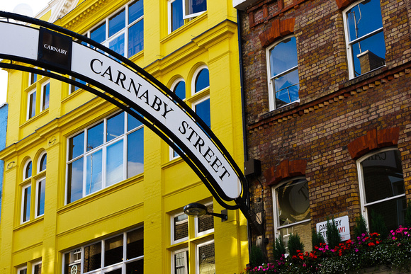 The 60's Mecca - Carnaby Street, london, England